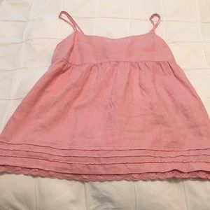 Linen Pink Juicy Couture Top